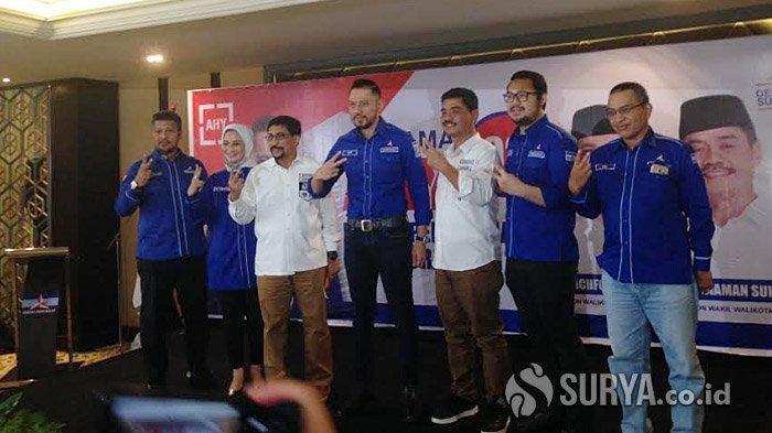 AHY Semangat Pimpin Konsolidasi Menangkan Machfud Arifin-Mujiaman di Pilwali Surabaya 2020