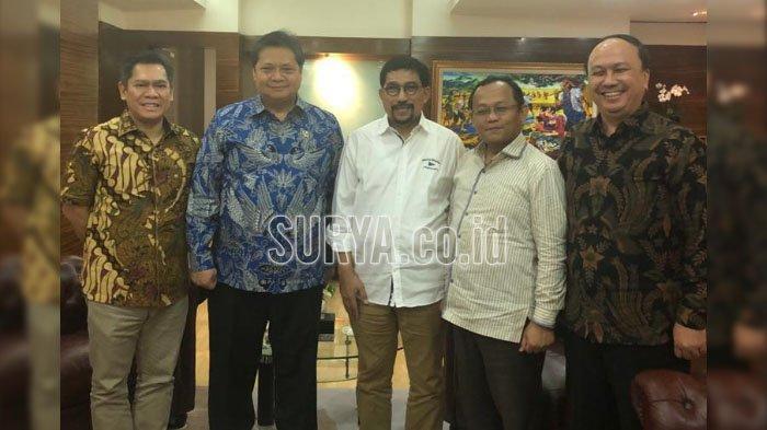 Pilwali Surabaya 2020, Golkar Berikan 'Surat Penetapan Sementara' untuk Machfud Arifin