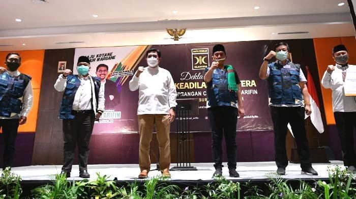 Deklarasi Pemenangan, PKS Putar Video Profil Dua Kader Terbaiknya untuk Wakil Cak Machfud
