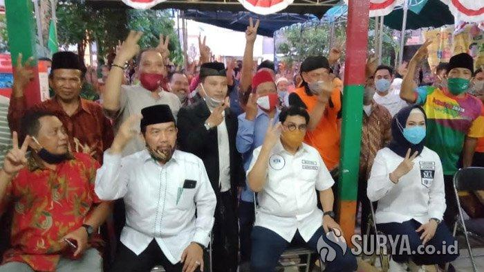 Paslon Machfud Arifin-Mujiaman Jawab Keluhan Warga Surabaya Soal Pembangunan