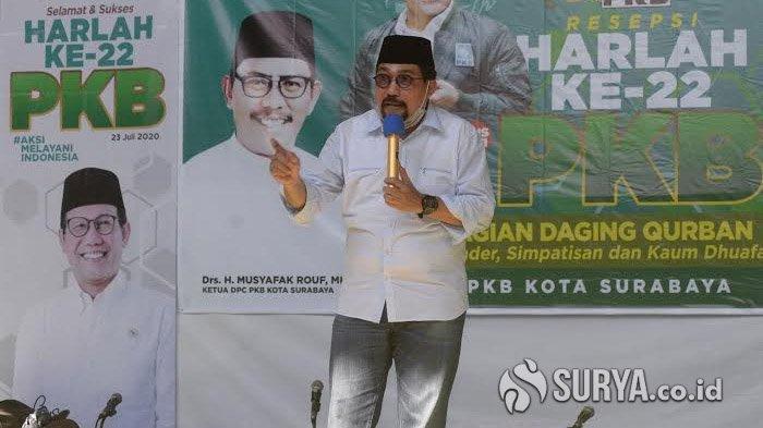 Machfud Arifin Hadiri Harlah ke-22 PKB Surabaya: Saatnya PKB dan NU Punya Wali Kota