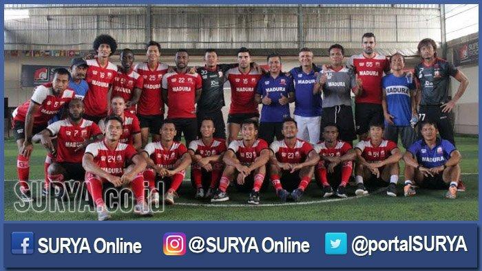 Inilah Daftar Pemain Asing dan Lokal yang Didepak dari Skuad Madura United