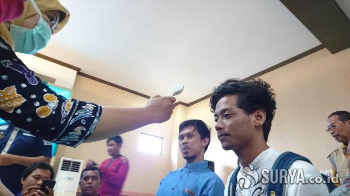 Mengantisipasi Virus Corona, Mahasiswa Asing IAIN Tulungagung Diperiksa Imigrasi dan Dinkes