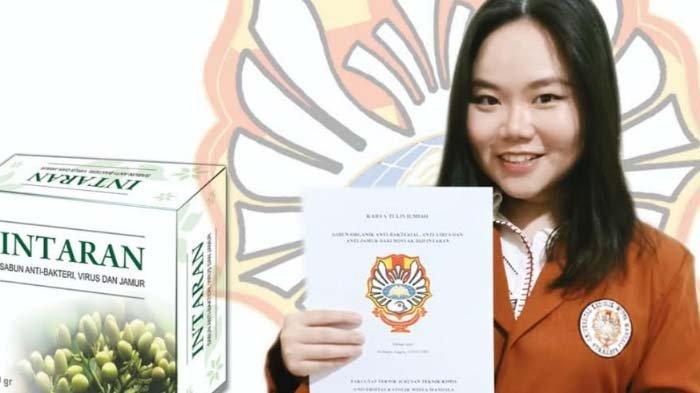 Manfaatkan Minyak Intaran untuk Sabun Antivirus, Stefanny Angela Raih Mahasiswa Berprestasi UKWMS