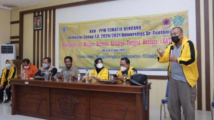 Forpimcam Tanggulangin Sidoarjo Sambut Baik Kedatangan Mahasiswa KKN dari Unitomo Surabaya