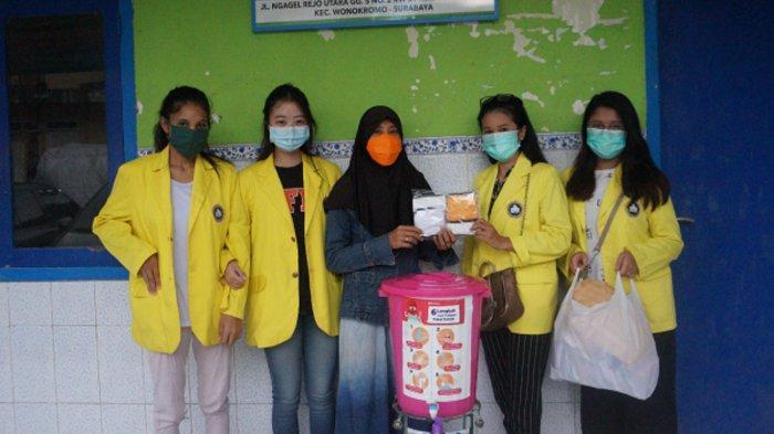 Bantu Cegah Penyebaran Covid-19, Mahasiswa Sumbang Fasilitas Cuci Tangan di PAUD