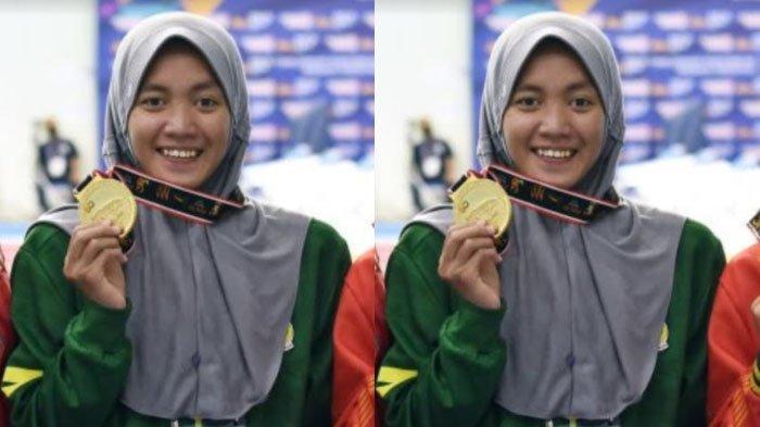 Sosok Adinda Larasati Dewi, Atlet Unesa Peraih 4 Emas dan Pecahkan Rekor PON XX Papua 2021