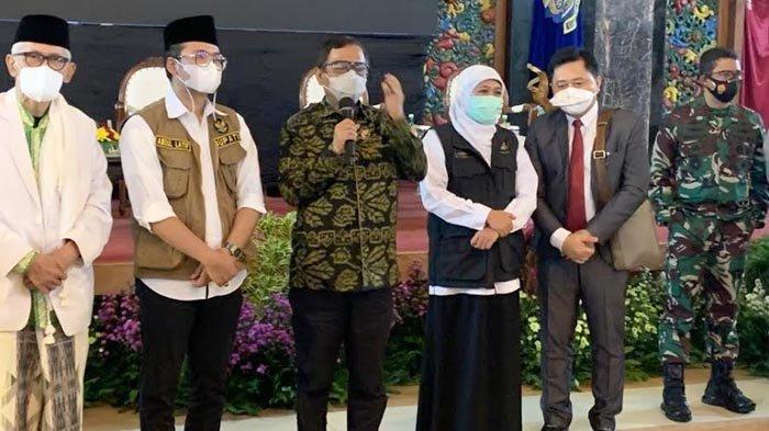 Mahfud MD Temui Kiai di Bangkalan Ajak Bersatu Lawan Covid-19, Ibaratkan Sedang Menyapu Lantai Kotor