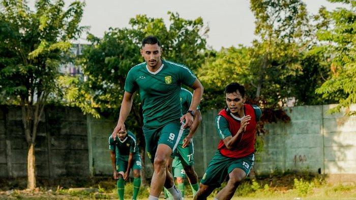 Janji Mahmoud Eid Begitu Gabung Latihan Persebaya Surabaya dan Kabar Terkini David da Silva