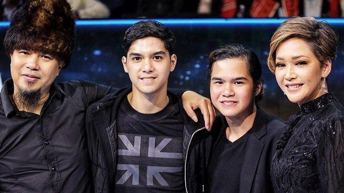 Pertemuan Ahmad Dhani dan Maia Estianty di Grand Final Indonesian Idol 2020