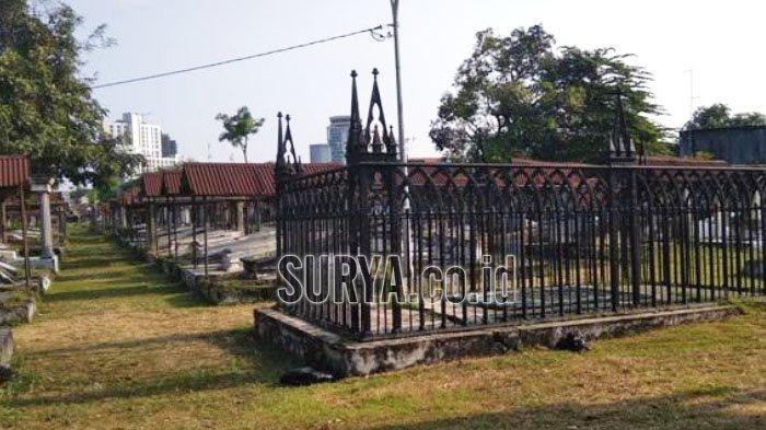 Makam Peneleh Kota Surabaya Simpan Jenazah Pejabat Hindia Belanda Modern