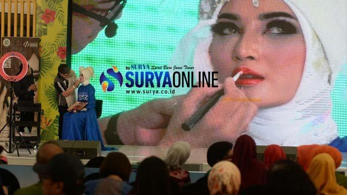 Galeri Foto Riasan Make Up International Look oleh Heru Tedja dari Heru Willy Salon Surabaya