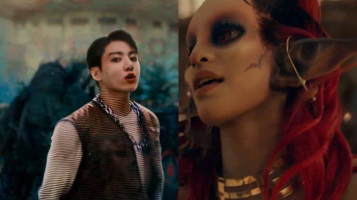 Makna 2 Alien Dalam MV Coldplay X BTS, Jadi Sorotan Fans Usai Dekat dengan Jungkook dan J-Hope
