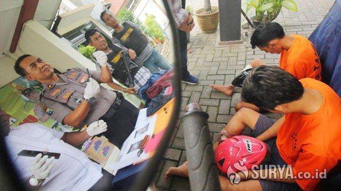 Rombongan Pencuri Motor dari Madura Naik Mobil Cari Sasaran di Surabaya, 2 Tersangka Dihadiahi Pelor