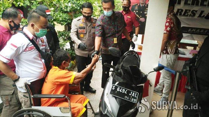 Pria Asal Lumajang Tertangkap Mencuri Sepeda Motor di Lamongan, Mengaku Belajar dari Tayangan TV