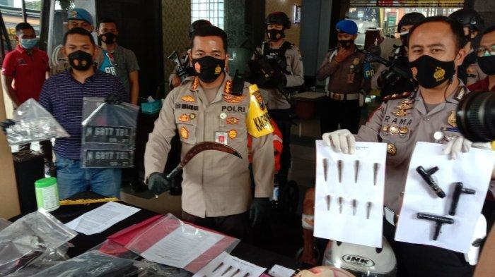 Pria Pasuruan yang Mencuri Motor di Malang Bacok Polisi, Jatuh Bangun Diberondong Timah Panas