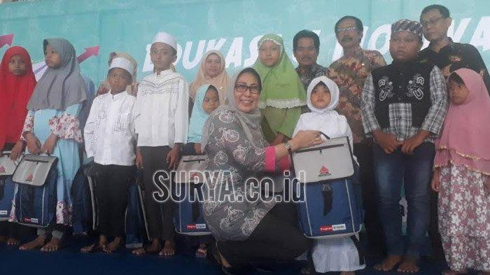 Cetak Generasi Berprestasi, Semen Indonesia Beri Motivasi dan Edukasi Anak-anak Yatim Piatu