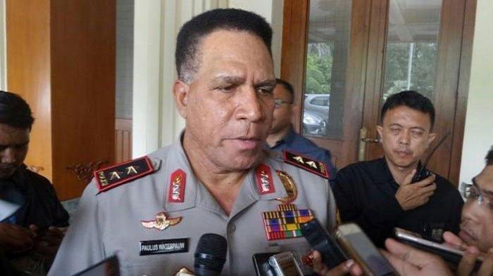 Mantan Kapolda Papua Paulus Waterpauw angkat bicara soal KKB