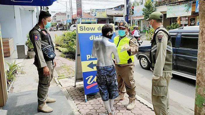 Pelaku Aksi Manusia Silver di Kota Kediri Lebih Dari Satu Orang, Jadi TO Satpol PP