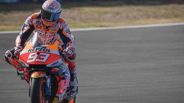 Link Live Streaming Moto GP 2020 di Sirkuit Jerez, Marc Marquez Percaya Diri Kalahkan Pebalap Yamaha