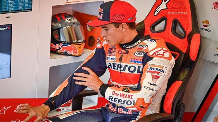 Marc Marquez saat di GP Spanyol 2020