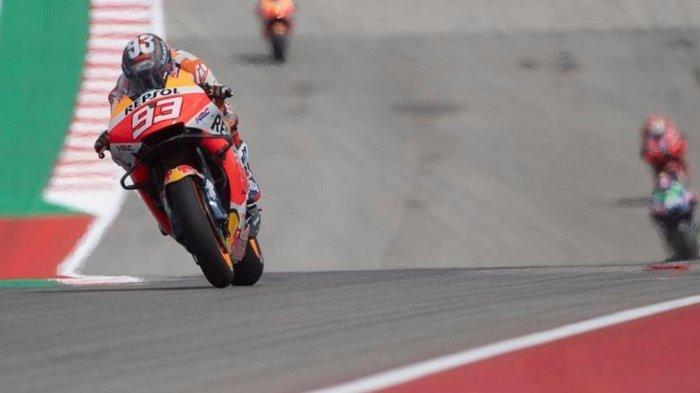 Hasil dan Klasemen MotoGP Amerika 2021: Marc Marquez Juara, Quartararo Perlebar Keunggulan