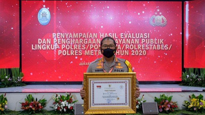 Layanan Prima Polresta Sidoarjo Sabet Penghargaan Kementerian PANRB, Hadiah untuk Masyarakat