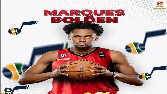 Mengenal Marques Bolden, Pemain Timnas Basket Indonesia, Kini Main di NBA Bersama Utah Jazz