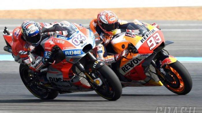 Jadwal dan Link Live Streaming MotoGP Valencia 2018, Malam Ini di Trans7 Jam 20.00 WIB