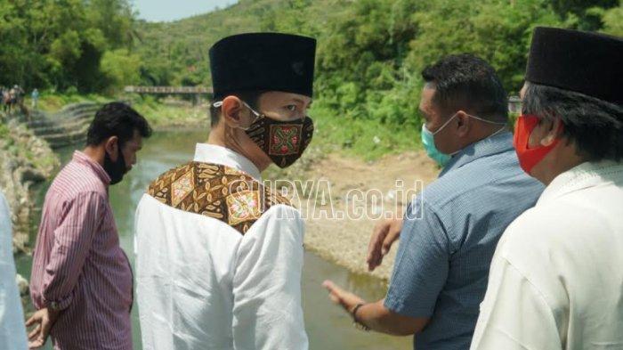 Datangi Desa Prigi Kabupaten Trenggalek, Mas Ipin Canangkan Normalisasi Sungai