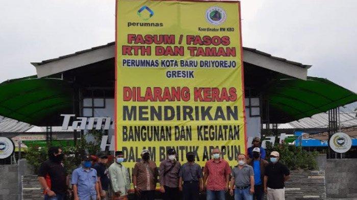 Masalah Fasum-Fasos Perumnas Dibawa ke KPK, Akibat Aduan ke DPRD dan Pemkab Gresik Tanpa Solusi