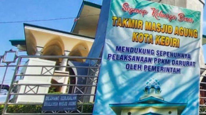 Taati PPKM Darurat, Masjid Agung Kota Kediri Tak Selenggarakan Salat Idul Adha 2021