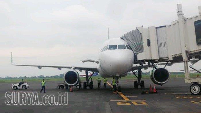 Gunung Agung Erupsi - Puluhan Penerbangan dari Bandara Juanda Menuju Denpasar Dibatalkan