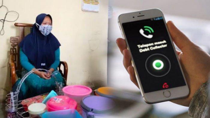 surya/kukuh kurniawan Mawar (nama samaran), guru TK di Malang yang terjerat pinjaman online.