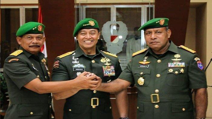 Biodata Mayjen TNI Herman Asaribab Wakil Jenderal Andika Perkasa asal Papua, ini Rekam Jejaknya