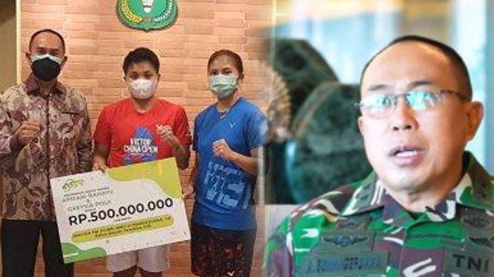 Biodata Mayjen TNI (Purn) Andi Sumangerukka yang Hadiahi Greysia Polii/Apriyani Rahayu Rp 500 Juta