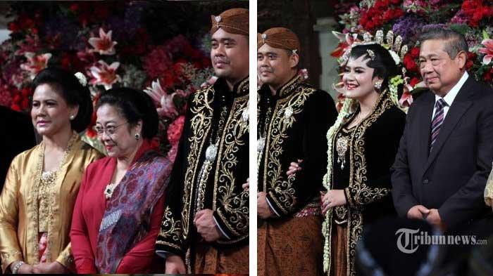 'Kok Kayak Cemberut?' Perhatikan Megawati & SBY saat Bertemu di Pernikahan Kahiyang Ayu ini