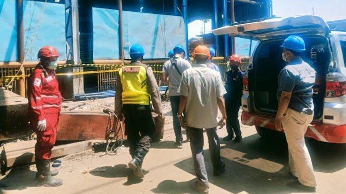 Pria Surabaya Meninggal Terjatuh Saat Mengecat Besi di Pabrik Kawasan Karang Pilang