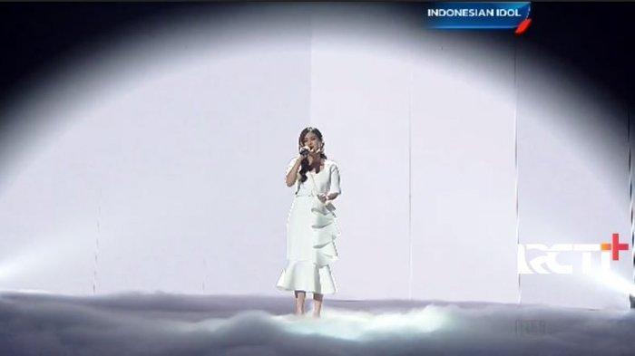 Gaya Medok Melisa Hartanto Indonesian Idol 2021 Nyanyi Lagu BLACKPINK, Endingnya Tak Kuat Tahan Tawa