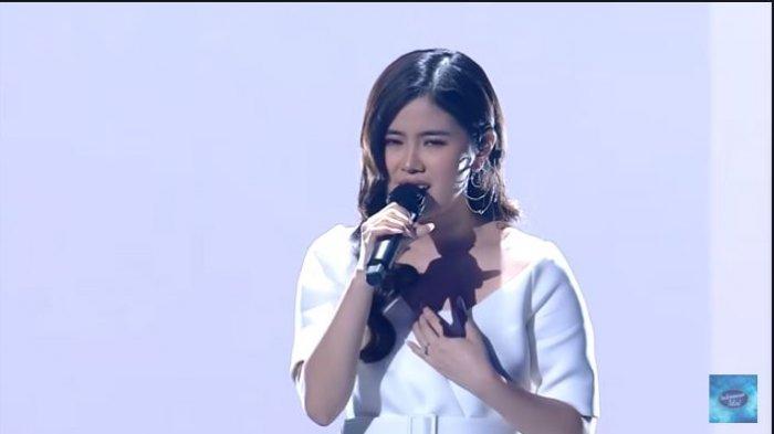 Melisa Hartanto Indonesian Idol 2021 di babak Spektakuler Show 6