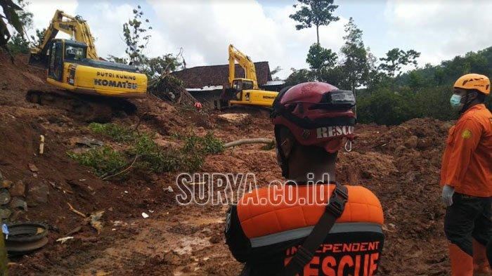 7 Korban Tanah Longsor di Ngetos Kabupaten Nganjuk Belum Ditemukan, Fokus Pencarian di Lokasi Ini
