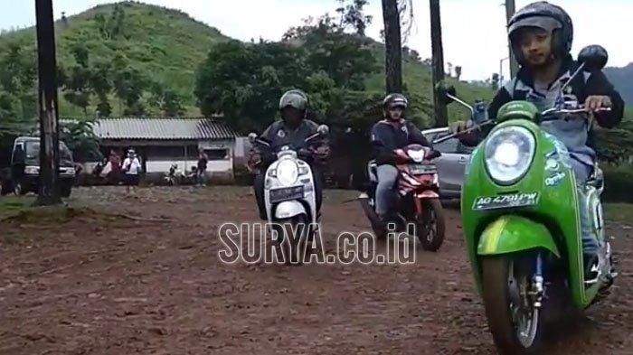 Wisata Camping dan Outbond di Pacet Mojokerto Bikin Akrab Para Biker Honda Se-Jatim