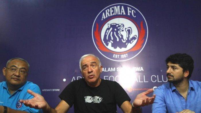 Jeritan Arema FC soal Uang Muka yang Melayang Setelah Ditinggal Pelatih dan Pemain Asing