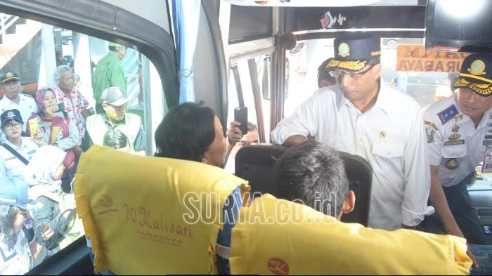 Jelang Mudik Lebaran, Menteri Perhubungan Cek Terminal Purabaya, Ada Sopir yang Ngaku Begini