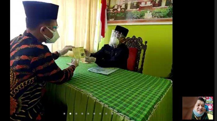 Pasangan Pengantin di Tulungagung Menikah Lewat Zoom, Gara-gara Mempelai Perempuan Positif Covid-19