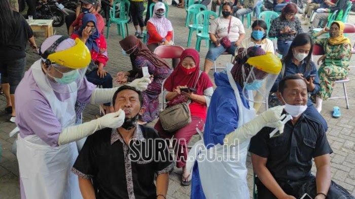 Jelang Uji Coba Pembukaan Makam Bung Karno Kota Blitar, Ratusan Pelaku Wisata Dites Swab