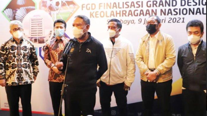 Menpora Zainudin Amali Bicara Peluang Kehadiaran Penonton di Liga 1 2021