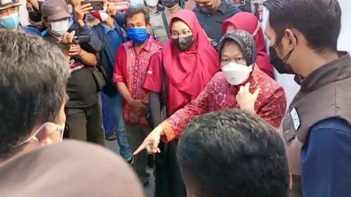 Temukan Kejanggalan Penyaluran Bansos di Tuban, Mensos Risma: Saya Susah Payah Betulin Data