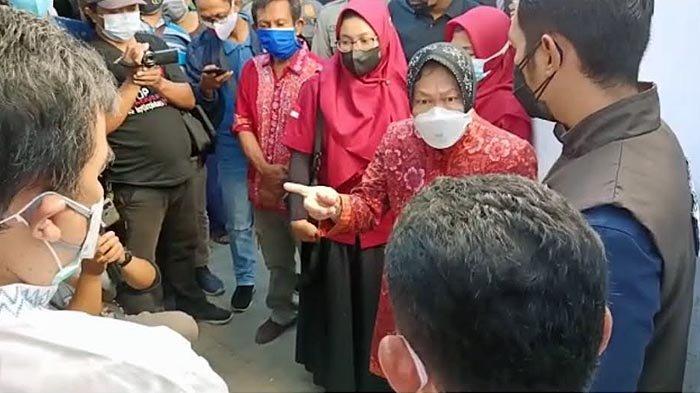 Mensos Risma Marah Besar Saat Cek Penerima BPNT Sembako di Tuban, Ini Gara-garanya