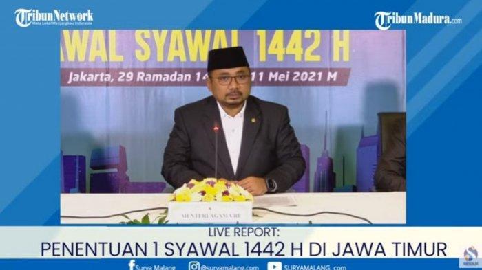 BREAKING NEWS: Hasil Sidang Isbat  Idul Fitri 1442 H atau Lebaran 2021 Jatuh pada Kamis 13 Mei